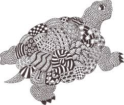 Pin Van Barbara Op Coloring Turtle Penguin Kleurplaten