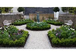 spring bulbs formal garden garden