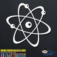Science Car Vinyl Decals Graphics Window Stickers