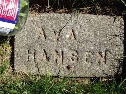 The USGenWeb Archives Project - Benton County, Washington: East Prosser  Cemetery Tombstone Photos - Surnames Han-Haz