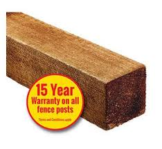 75 X 75mm Post 2 4m Redwood Uc4 Treated Brown