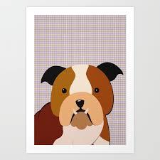 Dogs Poster Nursery Decor Animal Decor Dog Kids Room Decor Dogs Wall Art Art Print By Nikiandneo Society6