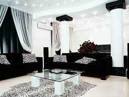surprising living room black leather