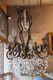 french vintage crystal chandelier