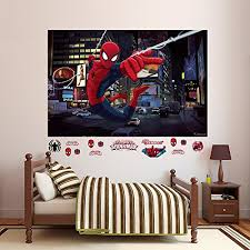 Where Can I Find Fathead Ultimate Spider Man Mural Real Big Wall Decal Erasmo Dela Dfer
