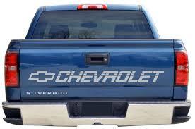 Chevy Bed Tailgate Vinyl Decal 50x4 Inch Chevrolet Silverado Etsy