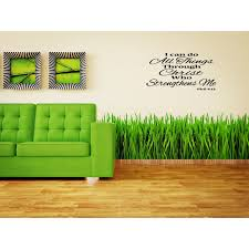 Shop I Can Do All Things Through Christ Phillippians 413 Quote Wall Art Sticker Decal Overstock 11545538