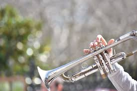 hd wallpaper person playing trumpet