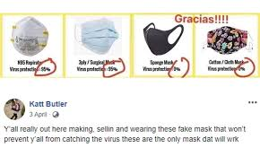 effective are homemade face masks