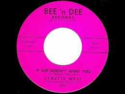 Lynette West - IF SHE DOESN'T WANT YOU (Jack Nitzsche) (1963) - YouTube