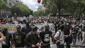 French protesters decry racism, other systemic injustices - ABC News
