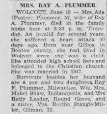 Ada Foster obituary - Newspapers.com