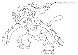 Infernape Pokemon Coloring Pages