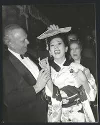 1958 Miiko Taka & Joshua Logan Vintage Foto Original Sayonara ...