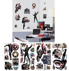 Captain America The First Avenger Wall Decals