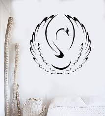 Vinyl Wall Decal Swan Bird Animal Home Art Decor Mural Stickers Unique Wallstickers4you