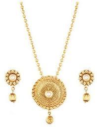 24 karat gold plated designer pendant