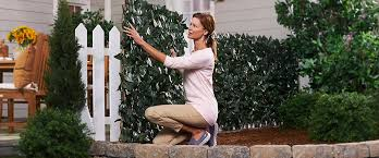 Qvc Compass Home Set Of 2 Expandable Faux Ivy Privacy Fences Tvshoppingqueens