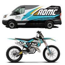 Create An Exciting Motocross Graphics Kit And Van Wrap Car Truck Or Van Wrap Contest 99designs