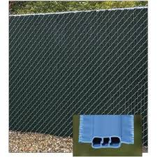 Decorative Chain Link Fence Privacy Slats Winged Slats Privacylink Sweets