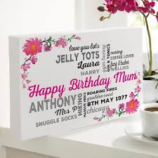 personalized gifts for birthdays
