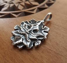 sterling silver green man my original