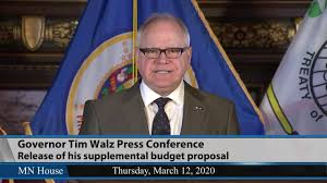 Governor Walz Press Conference 3/12/20 ...