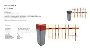 Barrier Gate System Accessories Ascopark Parking System In Sri Lanka