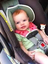 pattern baby car seat strap