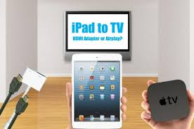 how to connect an ipad to tv with hdmi