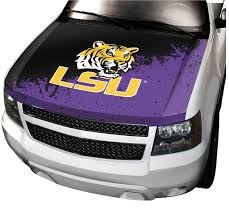Lsu Tigers Hood Covers Ncaa Hood Covers Lsu Tigers Car Truck Tailgating Hood Covers