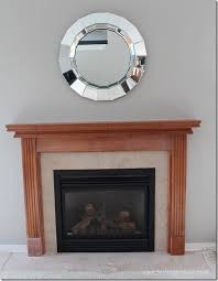 my fireplace mantel reveal a makeover