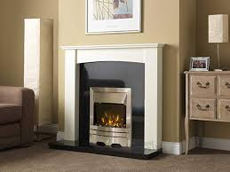 silver fire white curved surround