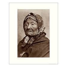 Princess Angeline — Lithographic prints of Edward Curtis photographs