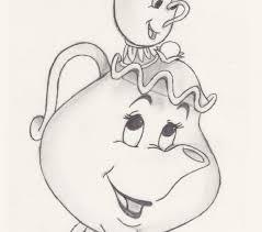 cartoon disney drawings at