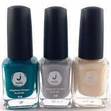 jellystone design nail polish trio