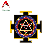 Aliauto Creative Car Sticker Goddess Lakshmi Yantra Auto Styling Vinyl Decal Cover Scratches For Skoda Octavia Smart 10cm 10cm Car Stickers Aliexpress