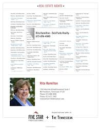 Rita Hamilton 2018 Nashville Five Star Real Estate Agent Pages 1 - 2 - Text  Version | FlipHTML5