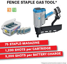 First Look Fasco Introduces A Cordless Fence Stapler Nail Gun Network