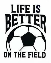 Soccer Vinyl Decal Soccer Futbol Sticker For Yeti Tumbler Window Laptop Cup Ebay