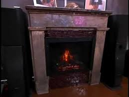 fireplace on mobile home disaster