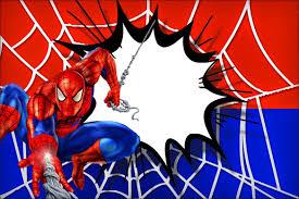 Imprimibles De Spiderman Spiderman Invitation Spiderman