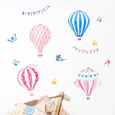 Cute Hot Air Balloon Wall Sticker Bedroom Decorations Wallpaper Kids Baby Rooms Mural Removable Decal Pink Blue Nursery Stickers Inspirational Wall Decals Kid Wall Decals From Youlovehome 5 45 Dhgate Com