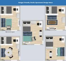 studio apartment floor plan apartments