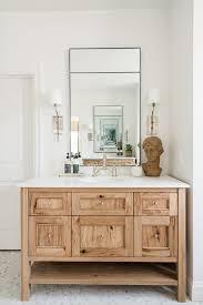 large modern wall mirror bathroom