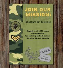 Army Birthday Buscar Con Google Fiesta Militar Invitaciones