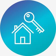Vector Haus Schlüssel Symbol, Design, Flach, Glyphe ' PNG und ...