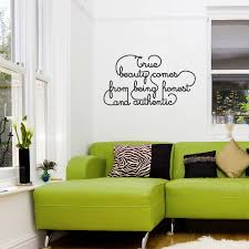True Beauty Wall Quote Decal Wallums Wall Decor