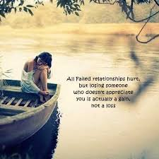 relationships quotes why failed relationships not a loss happy