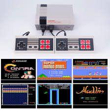 Máy Chơi Game 4 Nút Nes CoolBaby Hơn 600 Game